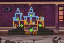 Angry Birds Seasons Haunted Hogs Level 1-13 Walkthrough