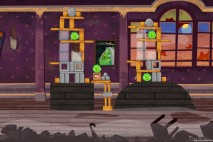 Angry Birds Seasons Haunted Hogs Level 1-2 Walkthrough