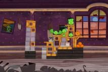 Angry Birds Seasons Haunted Hogs Level 1-4 Walkthrough