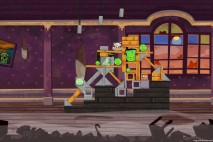 Angry Birds Seasons Haunted Hogs Level 1-6 Walkthrough