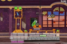 Angry Birds Seasons Haunted Hogs Level 2-10 Walkthrough