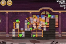 Angry Birds Seasons Haunted Hogs Level 2-11 Walkthrough