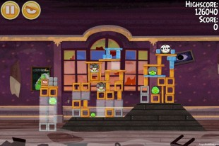 Angry Birds Seasons Haunted Hogs Level 2-13 Walkthrough