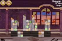 Angry Birds Seasons Haunted Hogs Level 2-14 Walkthrough