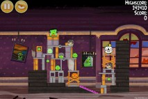 Angry Birds Seasons Haunted Hogs Level 2-15 Walkthrough