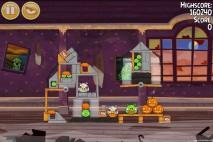 Angry Birds Seasons Haunted Hogs Level 2-3 Walkthrough