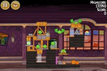 Angry Birds Seasons Haunted Hogs Level 2-4 Walkthrough