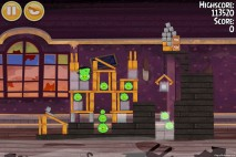 Angry Birds Seasons Haunted Hogs Level 2-5 Walkthrough