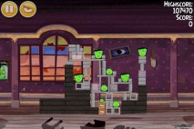 Angry Birds Seasons Haunted Hogs Level 2-6 Walkthrough