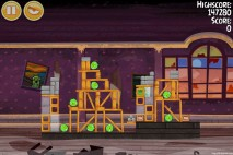 Angry Birds Seasons Haunted Hogs Level 2-8 Walkthrough