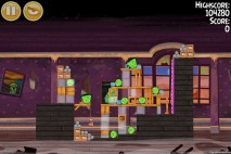 Angry Birds Seasons Haunted Hogs Level 2-9 Walkthrough