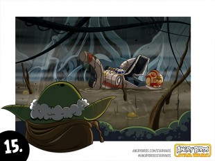 Angry Birds Star Wars Comic Part 15A look behind the look of Angry Birds Star Wars