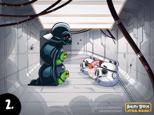 Angry Birds Star Wars Comic Part 2