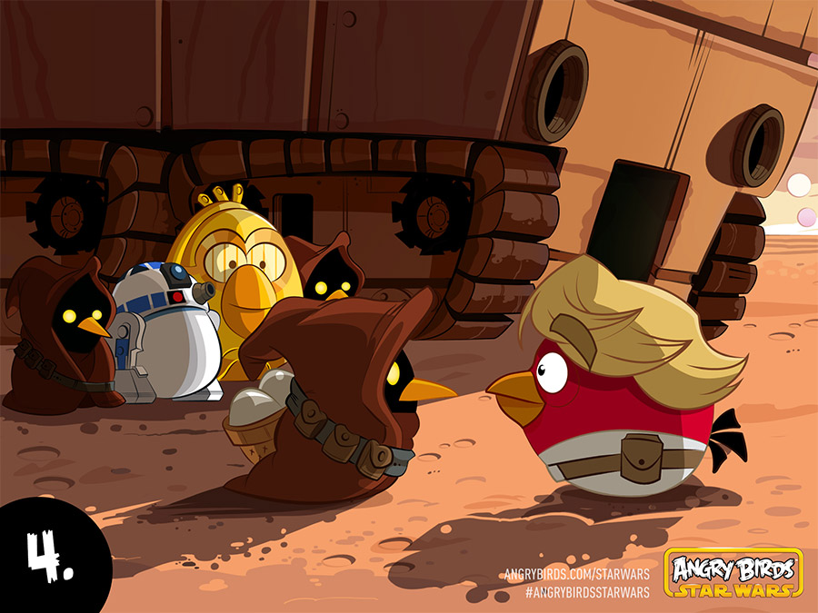 Angry Birds Star Wars Comic Part 4