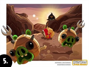Angry Birds Star Wars Comic Part 5