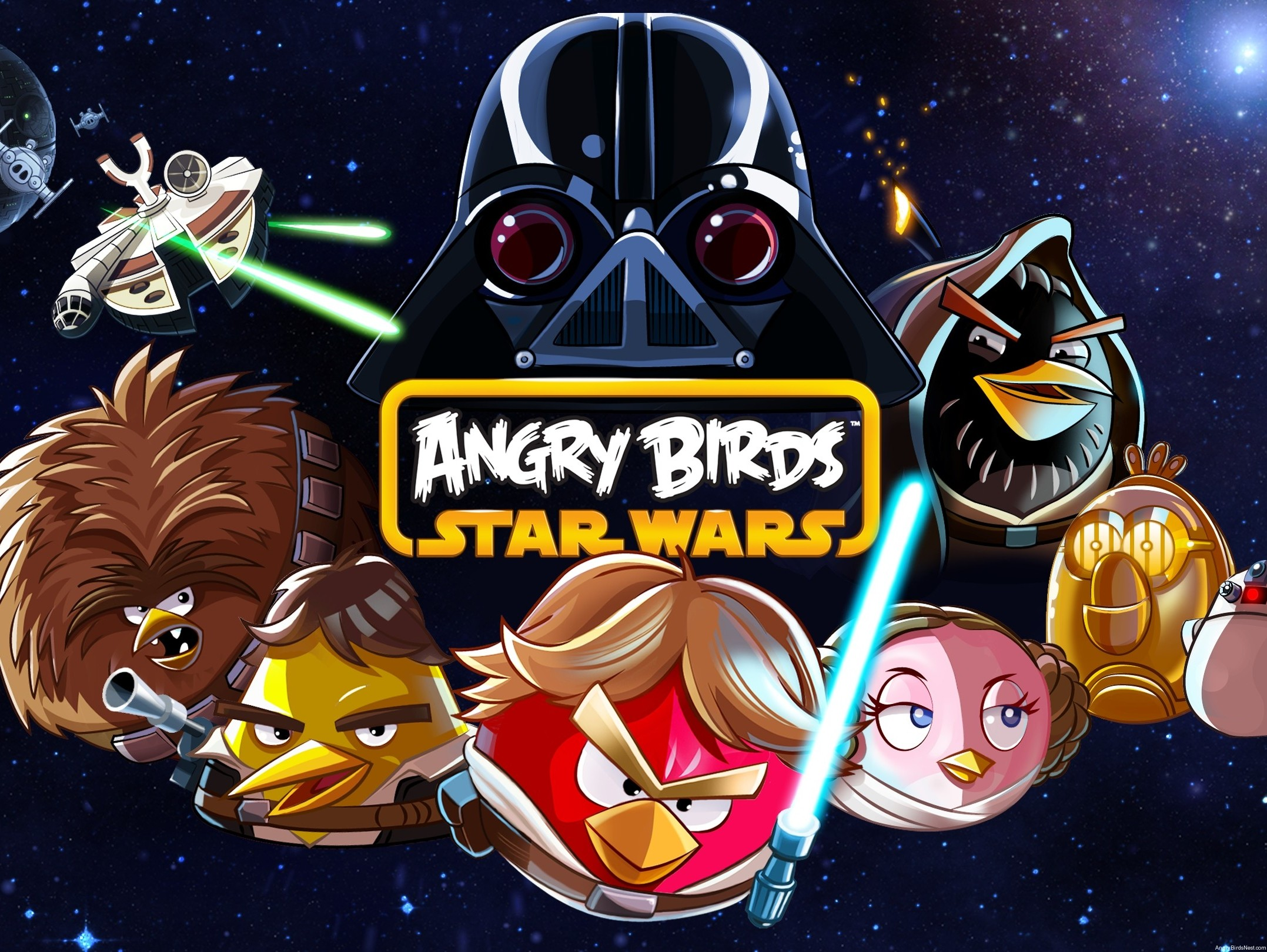 Angry Birds Star Wars Official Background
