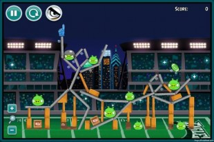 Angry Birds Philadelphia Eagles Level 10 at Washington Redskins Walkthrough