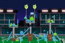 Angry Birds Philadelphia Eagles Level 11 vs Carolina Panthers Walkthrough