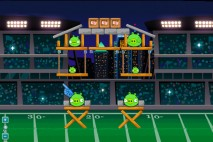 Angry Birds Philadelphia Eagles Level 9 vs. Dallas Cowboys Walkthrough