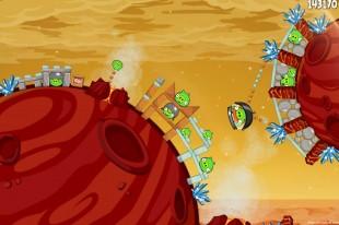 Angry Birds Space Golden Eggsteroid #14 (E-14) Walkthrough | Phoenix Lander