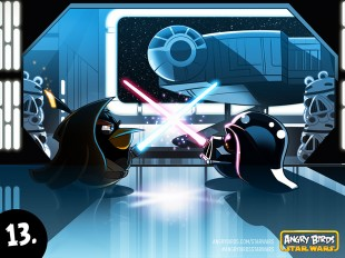 "Angry Birds Star Wars Comic Part 13 ""We meet again at last ... Obi Wan!"""