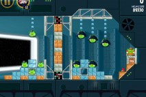Angry Birds Star Wars Death Star Level 2-26 Walkthrough