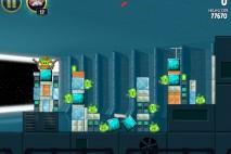 Angry Birds Star Wars Death Star Level 2-28 Walkthrough