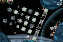Angry Birds Star Wars Death Star Level 2-33 Walkthrough