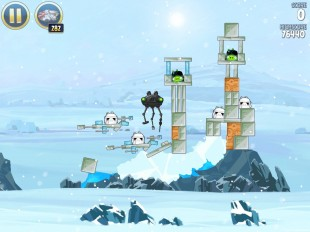 Angry Birds Star Wars Hoth Level 3-2 Walkthrough