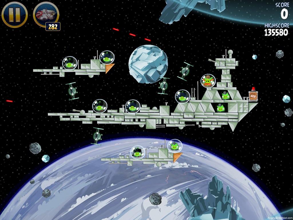 Angry Birds Star Wars Hoth Level 3-20 Walkthrough ...