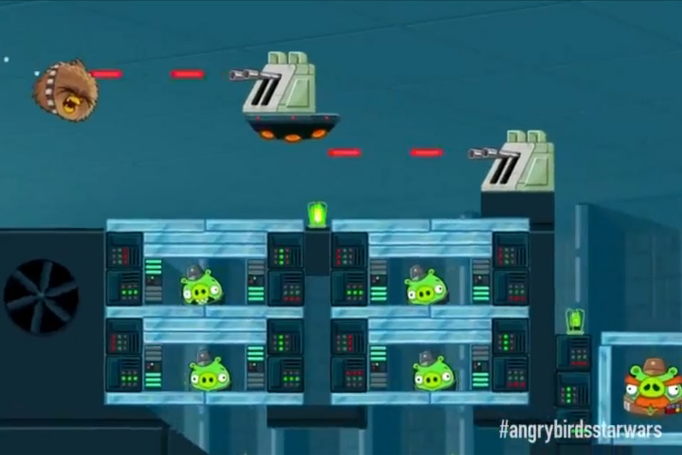 Angry Birds Star Wars Official Gameplay Teaser Chewie Attack