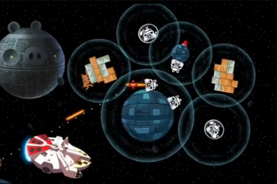 Angry Birds Star Wars Official Gameplay Teaser Mighty Millennium Falcon