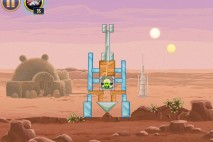 Angry Birds Star Wars Tatooine Level 1-1 Walkthrough