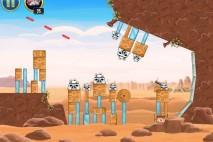 Angry Birds Star Wars Tatooine Level 1-13 Walkthrough
