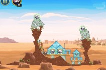 Angry Birds Star Wars Tatooine Level 1-14 Walkthrough