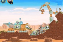 Angry Birds Star Wars Tatooine Level 1-16 Walkthrough