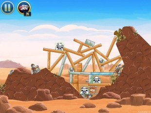 Angry Birds Star Wars Tatooine Level 1-18 Walkthrough