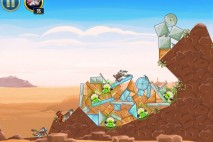 Angry Birds Star Wars Tatooine Level 1-21 Walkthrough