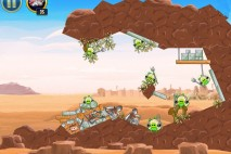 Angry Birds Star Wars Tatooine Level 1-22 Walkthrough