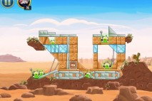 Angry Birds Star Wars Tatooine Level 1-23 Walkthrough
