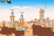 Angry Birds Star Wars Tatooine Level 1-25 Walkthrough