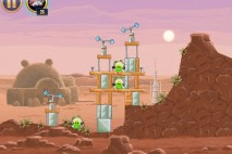 Angry Birds Star Wars Tatooine Level 1-3 Walkthrough