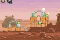 Angry Birds Star Wars Tatooine Level 1-4 Walkthrough