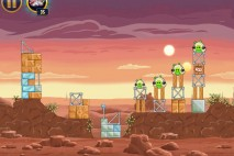 Angry Birds Star Wars Tatooine Level 1-5 Walkthrough