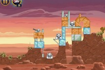 Angry Birds Star Wars Tatooine Level 1-7 Walkthrough
