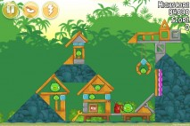 Angry Birds Free 3 Star Walkthrough Level 21-4