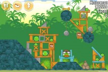 Angry Birds Free 3 Star Walkthrough Level 21-5