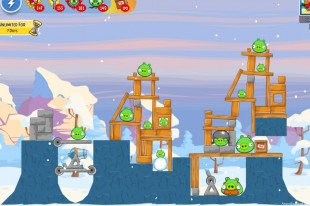 Angry Birds Friends Winter Tournament IV Level 5 – Week 32 – December 24th