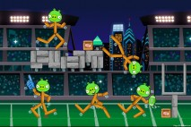 Angry Birds Philadelphia Eagles Level 13 at Tampa Buccaneers Walkthrough