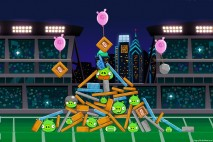 Angry Birds Philadelphia Eagles Level 14 vs Cincinnati Bengals Walkthrough